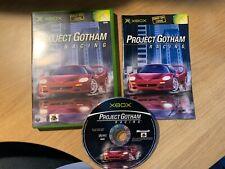 Project Gotham Racing für Xbox (PAL, sehr guter Zustand, CiB, Disc Maschine gereinigt)