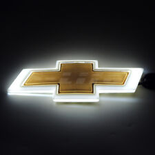 White 4D LED Car Tail Logo Light Badge Lamp Emblem For CHEVROLET CRUZE EPICA
