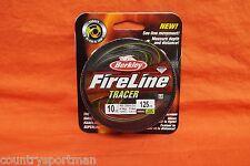 BERKLEY FireLine Tracer 10lb (125yd) Flame Green #BFLFS10-TR