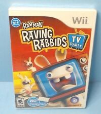 Rayman Raving Rabbids: TV Party (Nintendo Wii, 2008) BRAND NEW FACTORY SEALED