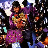 DJ Delz Snatchatape Jackin 4 Beats Best of Stack Bundles Freestlyes Mixtape CD