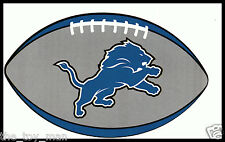 DETROIT LIONS OVAL FOOTBALL NFL TEAM LOGO INDOOR STICKER FOR LAPTOP