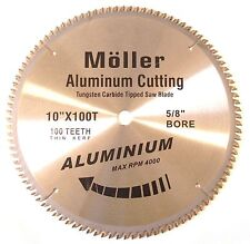 "10"" x 100T Aluminum Cutting TCT Saw Blade"