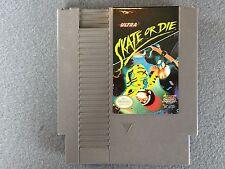 ☆ NINTENDO NES GAME: SKATE OR DIE VINTAGE VIDEO GAME CARTRIDGE COLLECTIBLE~
