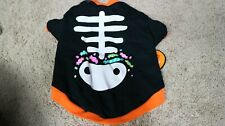 Halloween Costume for SMALL DOG Skeleton Dog clothing Chihuahua Terrier Dress-up