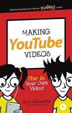 NEW Making YouTube Videos: Star in Your Own Video! (Dummies Junior)