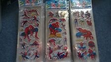 SPIDERMAN STICKERS BUY 5  AND GET 5 FREE  PARTY SUPPLIES LOOTBAG FILLERS NEW