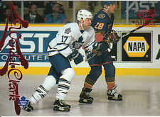 97-98 PACIFIC PARAMOUNT RED #179 WENDEL CLARK MAPLE LEAFS *10293