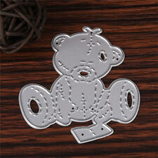 Bear Metal Cutting Dies DIY Stencil Scrapbooking Paper Card Embossing Gift 2019