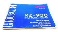 Ricoh RZ-900 Owners Manual #240