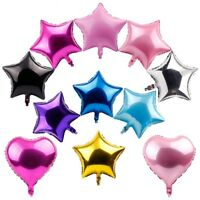 "5Pcs 18"" Foil Star Balloons Helium Wedding Birthday Party Baby Shower Decor 2018"