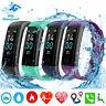 Smartwatch Bluetooth Armbanduhr Schrittzähler Pulsmesser Sport Fitness Tracker