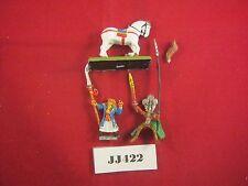 Fuera de imprenta Warhammer High Elf Mage y montado Príncipe Circa 1996 Metal ref JJ422