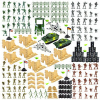 250pcs Military Playset Soldier Army Men Action Figures & Accessories