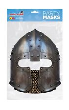 Norman Soldier Helmet Face Party Mask Card A4 Fancy Dress History Ladies Men Kid