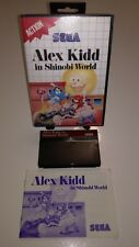 SEGA Master System Spiel ALEX KIDD IN SHINOBI WORLD, RetroGame CIB