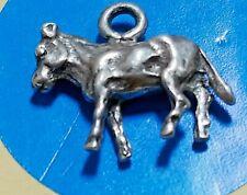 Sterling Silver Vintage Bracelet Charm M87 Donkey