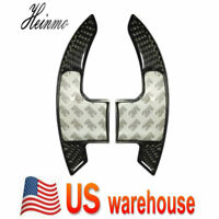 Carbon Fiber Steering Wheel Shift Paddle Shifter Extension For Ford Mustang USA