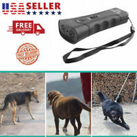 Ultrasonic Pet Dog Anti Barking Tool Puppy Stop Training Repeller Trainer Device