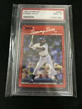 1990 Donruss #489 Sammy Sosa RC Rookie Card PSA Mint 9 - Free Shipping !!