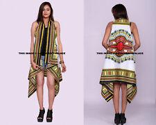 Women Dashiki Loose Shawl Kimono Cotton Cardigan Ladies Jacket Blouse Tops Shrug