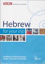 Berlitz Hebrew For Your Trip Audio CD *IN STOCK IN MELBOURNE - NEW*