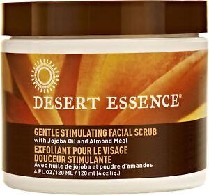 Gentle Stimulating Facial Scrub by Desert Essence, 4 oz