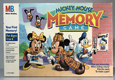 1990 Milton Bradley Mickey Mouse Memory Game Complete in Box Excellent Condition