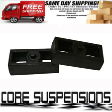 "1.5"" Rear Solid Steel Lift Blocks Load + Tow Upgrade for C1500 C2500 C3500 2WD 4"