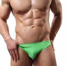 Tangas Slips para Hombre Calzoncillos de Triángulo Cómodo Brief Hipster Bikini