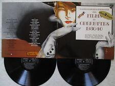 """2 LP 33T JEAN GABIN, D. DARRIEUX """"Films et operettes 1930/40"""" PHILIPS 6311 185 §"""