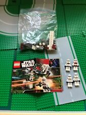 LEGO- STAR WARS- CLONE TROOPER BATTLE PACK- 7655- 100% COMPLETE-