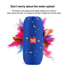 Portable Bluetooth Speaker Wireless Waterproof Mini Stereo Bass USB/TF/FM Radio