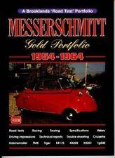 Messerschmitt Gold Portfolio 1954-1964 Road Test Car Book Brooklands