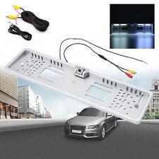 170° 16 LED Auto Kennzeichenhalter Nummernschild Rückfahrkamera Wasserdicht EU