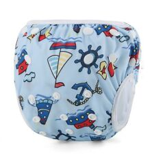 Reusable Swim Nappy Baby Cover Diaper Pants Nappies Swimmers (s138)