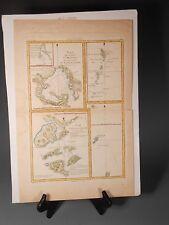 1780 Bonne Cook Map Avacha Macau Japan Jima Plan De La Baye D'Awatska