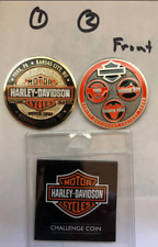 KC Harley Davidson Factory Challenge Coins Lot of 2 Coins