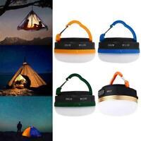 Outdoor Camping Zelt Licht Mini tragbare hängende Ausrüstung wiederaufladba Q9B8