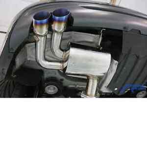 2007-2013 BMW 135i Agency Power Axle-Back Exhaust System NEW AP-135I-170