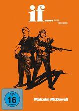 MALCOLM MCDOWELL - IF   DVD NEU ANDERSON,LINDSAY