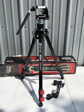 Stitz Cv550Q Quick Release 3 Section Elevating Video Camera Tripod