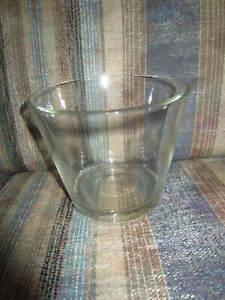 "Tabletop Glass Flower Planter Vase Terrarium Container Clear Fish Bowl 4 3/4"" H"