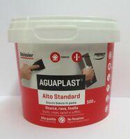 Beissier aguaplast alto standard stucco bianco in pasta livella x interno 500 gr