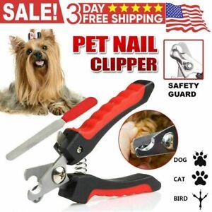 Corta Uñas Para Perros Recortadoras Mascotas Herramienta Todos Los Gato Loro NEW