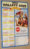 original 2005 RARE POSTER coca-cola coke food land advertising promo calendar