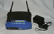 LINKSYS WRT54G V8 Wireless-G Broadband Router 2.4 GHz 54 Mbps With Adapter