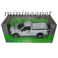 WELLY 24063 2015 15 FORD F-150 PICK UP TRUCK REGULAR CAB 1/24 DIECAST WHITE