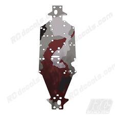Arrma Talion & Kraton Chassis Protector Smoke Camo Red AR320197