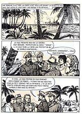 TAROU CONTRE LES SOLDATS JAPONAIS (BOB DAN) PLANCHE ORIGINALE AREDIT  PAGE 36
